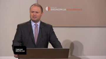 PM confirms Cafe' Premier will be transferred to Valletta Council,  publication of budget document was 'a genuine mistake'
