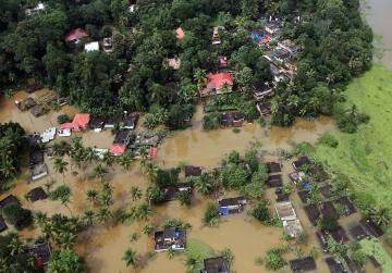 Appeals for donations after Kerala's severe floods