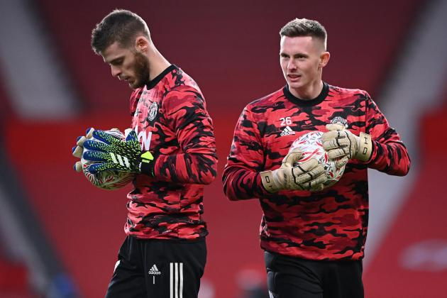 Solskjaer welcomes rivalry between goalkeepers De Gea and Henderson