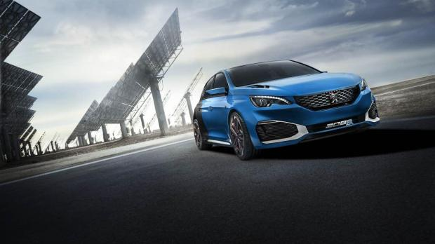 Peugeot R Hybrid The Compact Hatchback That Drives Like A