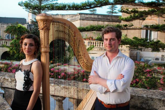 Voice and harp recital at St Catherine of Italy
