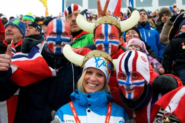 Norwegians are the happiest, according to the report.