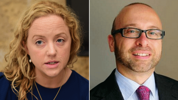 Sarah Clarke and Sandro Mangion clashed at a UN summit.