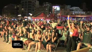 Watch: Foreign fans in Malta relish Portugal vs Spain thriller