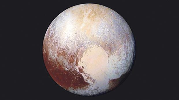 Pluto, as imaged by New Horizons in 2015. Photo: NASA/JHUAPL/SWRI