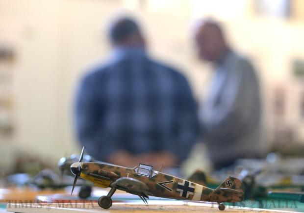 One of the many models exhibited during the exhibition of the Malta Society of Model Makers at the Catholic Institute in Floriana on April 8. Photo: Matthew Mirabelli