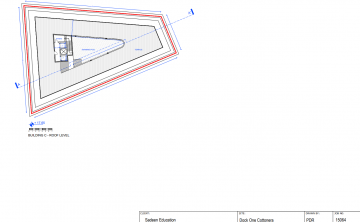 Plans show the pool.