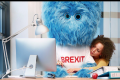 Dutch unveil furry Brexit monster