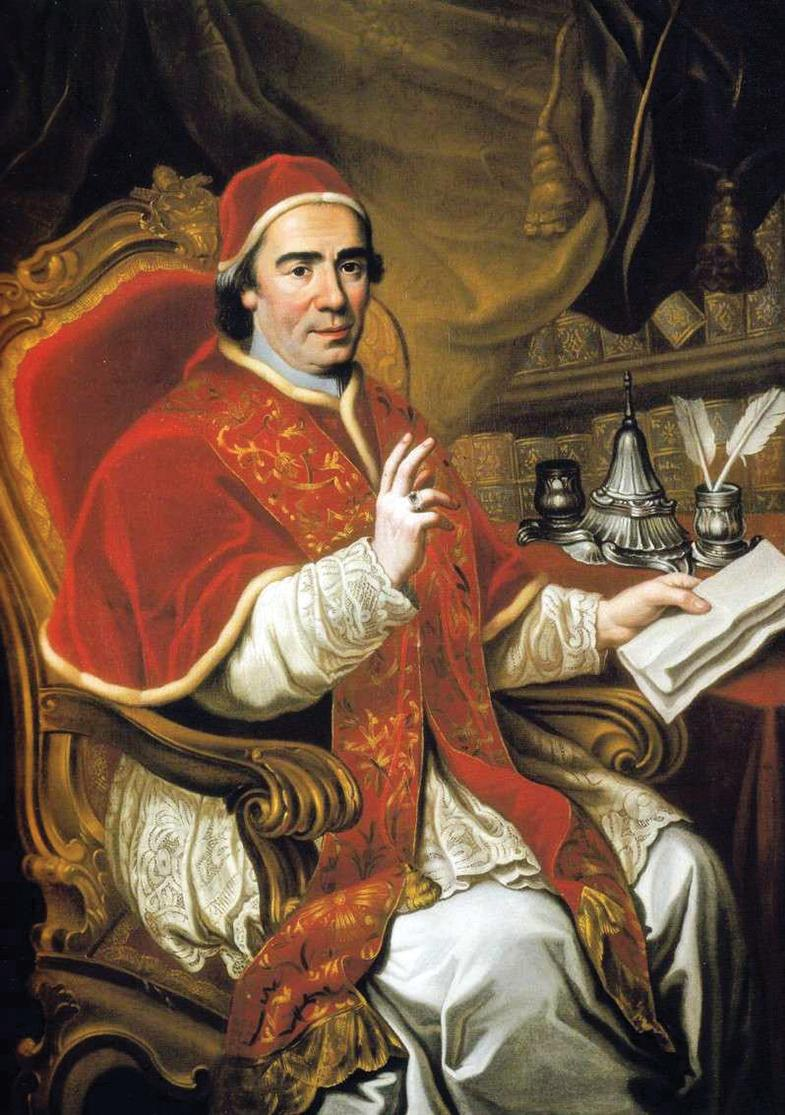 Pope Clement XIV (1769-74): he supplied Grand Master Ximenes with a secret brief allowing him to prosecute and punish ecclesiastics who revolted against the Order.