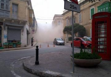 Developers slam contractor responsible for Sliema dust storm