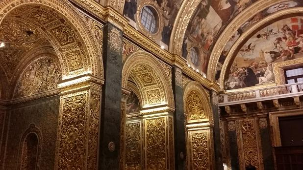 St. John's Co-Cathedral, Valletta. Photo: Lucienne Attard