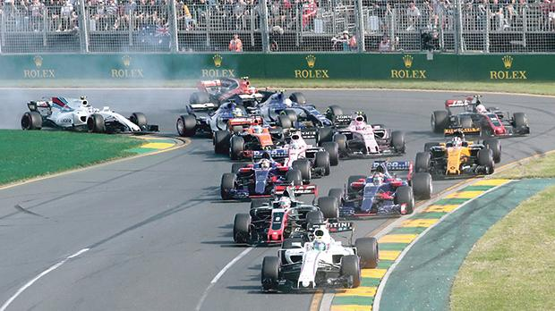 Overtaking was almost impossible at the Australian Grand Prix.