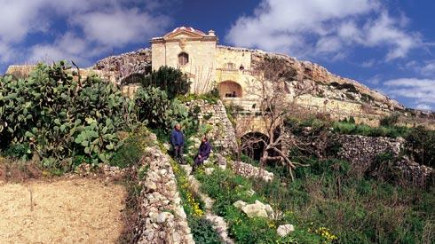 An ex-voto chapel in the picturesque agricultural zone of Fawwara, limits of Siġġiewi.