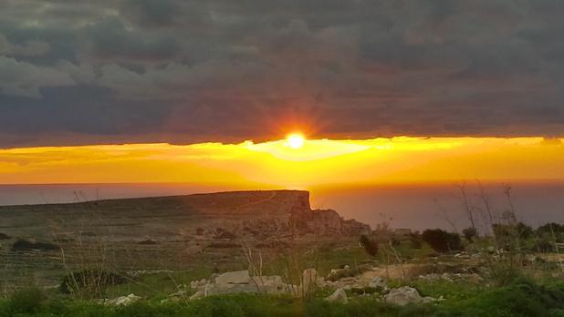 Sunset. Photo: Jonathan Zammit