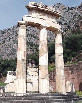 The Tholos of Athena.