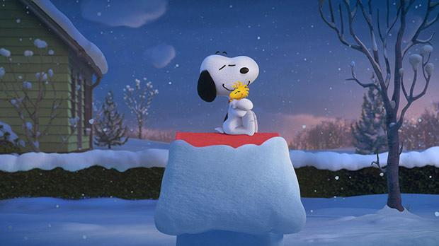 Snoopy and Woostock
