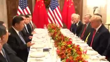 US and China agree to trade war ceasefire  | Video: Reuters