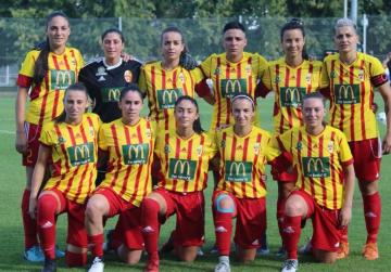 Stripes earn historic point in women's Champions League