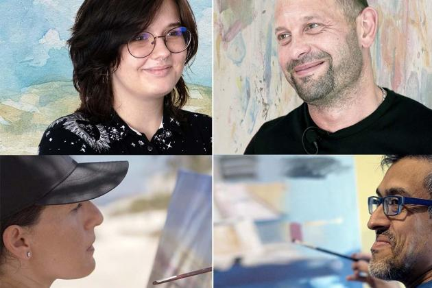 Artists open up in new  fly-on-the-wall series