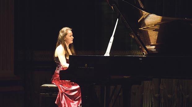 Maria Ludwika Gabryś in concert. Photo: Mark Zammit Cordina