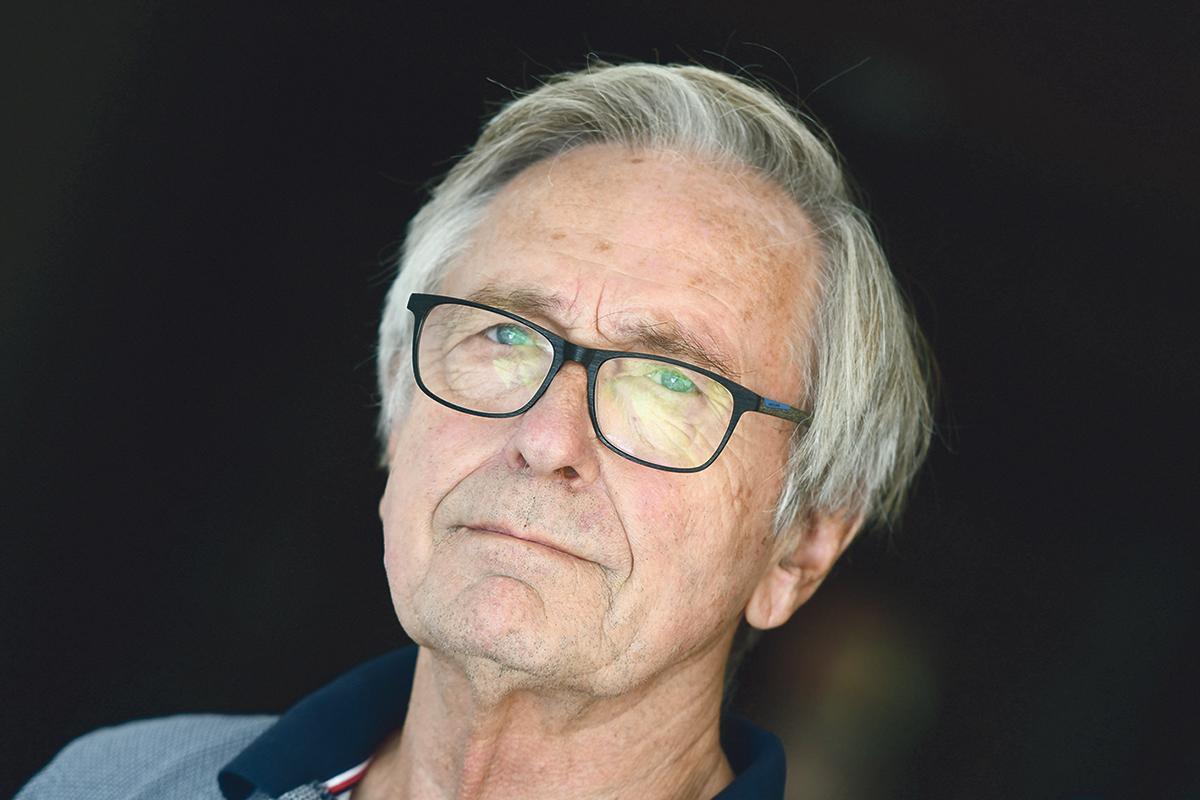 Rainer Geissmann, 89, remembers the fall of the Berlin Wall 30 years ago. Photo: Jonathan Borg