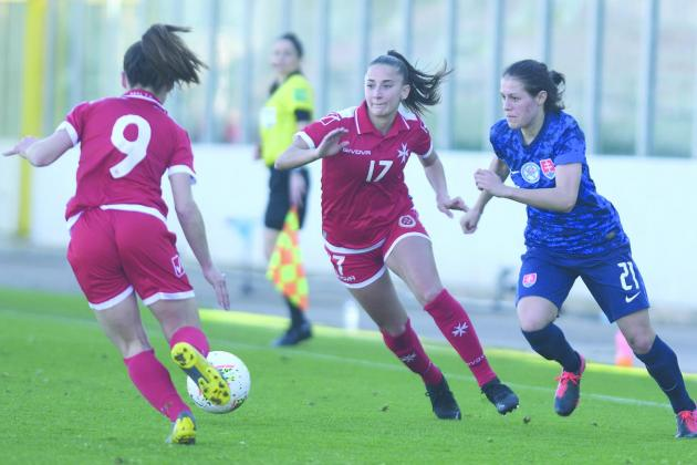 Stern test for Malta women against fifth-ranked Sweden