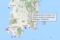 Seasickness grips migrants on board, vessel changes route