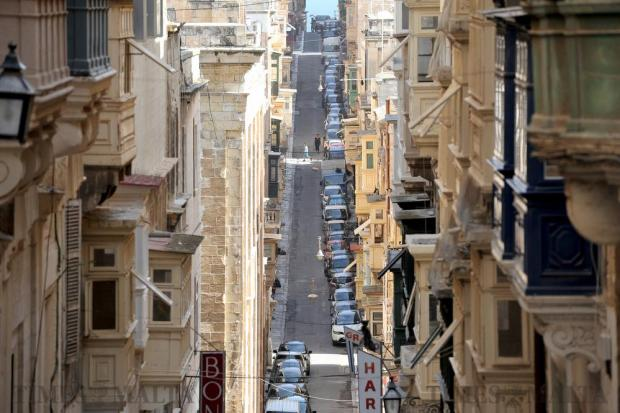 St Ursula Street in Valletta on October 5. Photo: Chris Sant Fournier