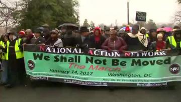 Anti-Trump protests kick off ahead of inauguration