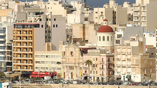 When we decided to demolish the terraced houses in Sliema, especially those on the seafront, we replaced them with terraced apartment blocks. Photo: Matthew Mirabelli
