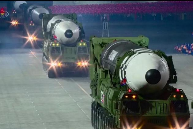 North and south Korea test-fire ballistic missiles on the same day