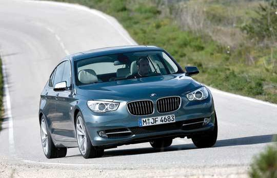 BMW's 5 Series GT will be available in Europe from October with a choice of three engines: 530d, a 535i and a 550i.