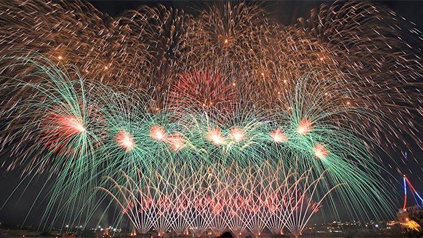Mqabba fireworks. Photo: Nicholas Grech