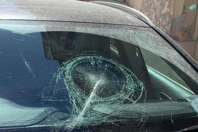 Woman finds windscreen smashed after parking near Sliema construction site
