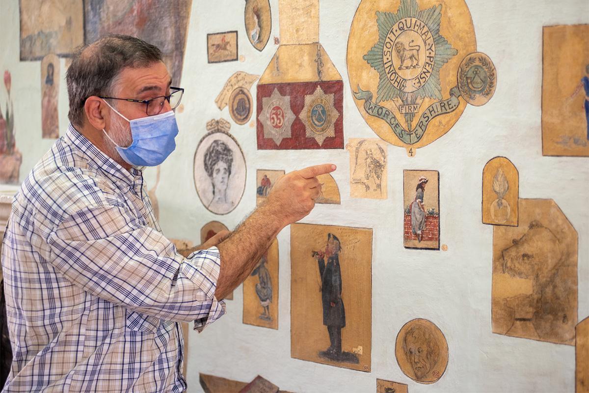 Anthony Spagnol, senior conservator at Heritage Malta.