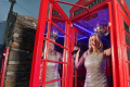 Disused telephone kiosks turned into nightclub