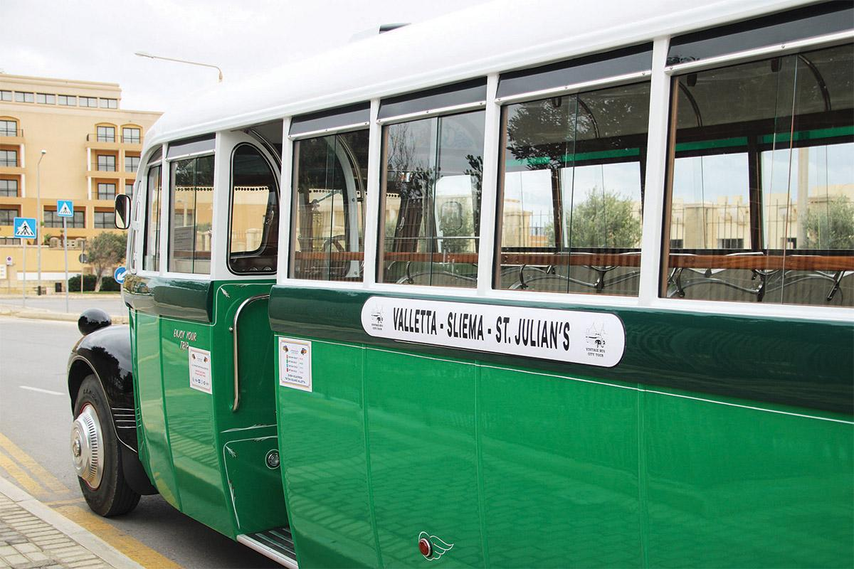 All the buses in the fleet have been lovingly restored to the highest standards.