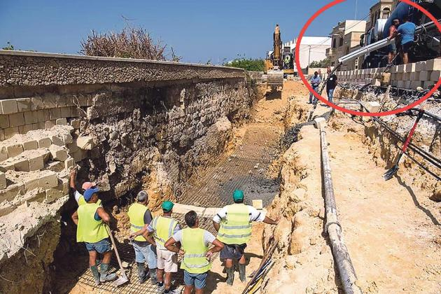 Illegal plant supplied concrete to Gozo Ministry