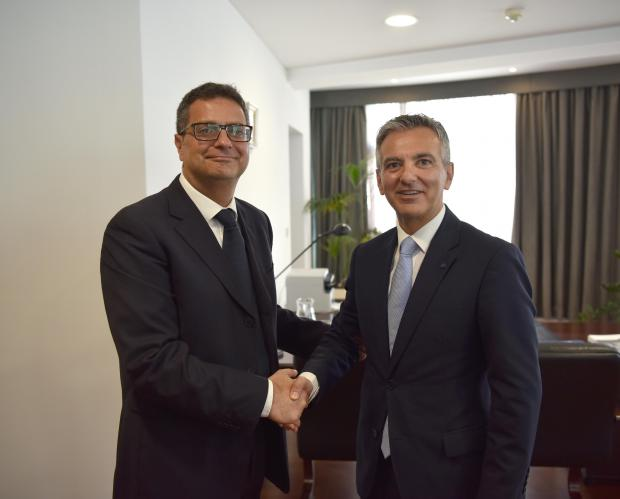 Dr Delia and Dr Busuttil.