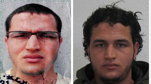 Pictures of the suspect issued by the German police.