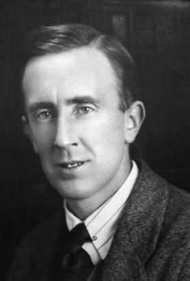 An undated handout photo of Tolkien.