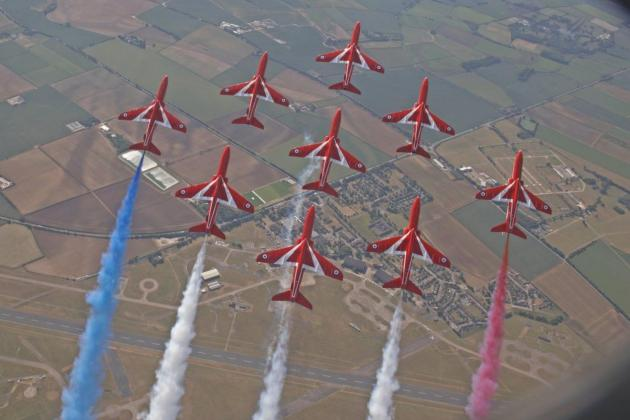 The Red Arrows returning to Malta's skies later this month