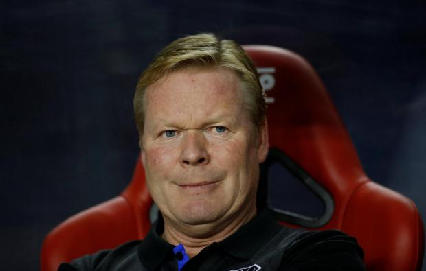 Ronald Koeman hopes Everton can win their Europa League opener against Atalanta.