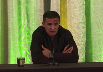 Watch: World Cup was right time to end Socceroos career, says Cahill