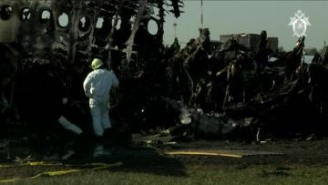 Pilot says lightning caused deadly Russian crash landing | The pilot did not say whether the aircraft received a direct hit.