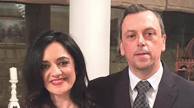Mark and Carmen Sammut.