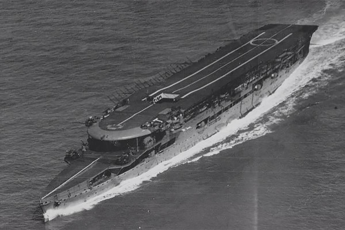 The British aircraft carrier HMS Furious. Source: www.pinterest.com