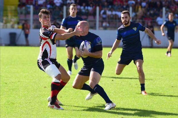 Malta broke little sweat to overcome Bosnia on Saturday. PHOTO: MARK ZAMMIT CORDINA