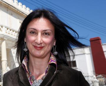 Daphne Caruana Galizia was murdered on October 16.