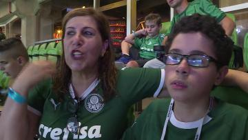 Watch: 'Goooal!': Mother narrates games for blind, autistic son | Video: AFP